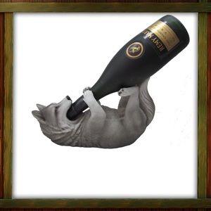 Wolf 🐺 Wine Bottle Holder